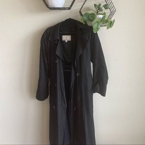 London Fog Suede Trench Coat